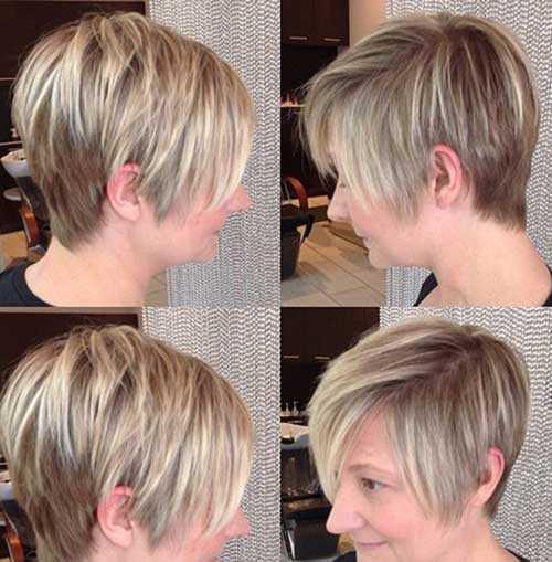 peinados de moda cortos