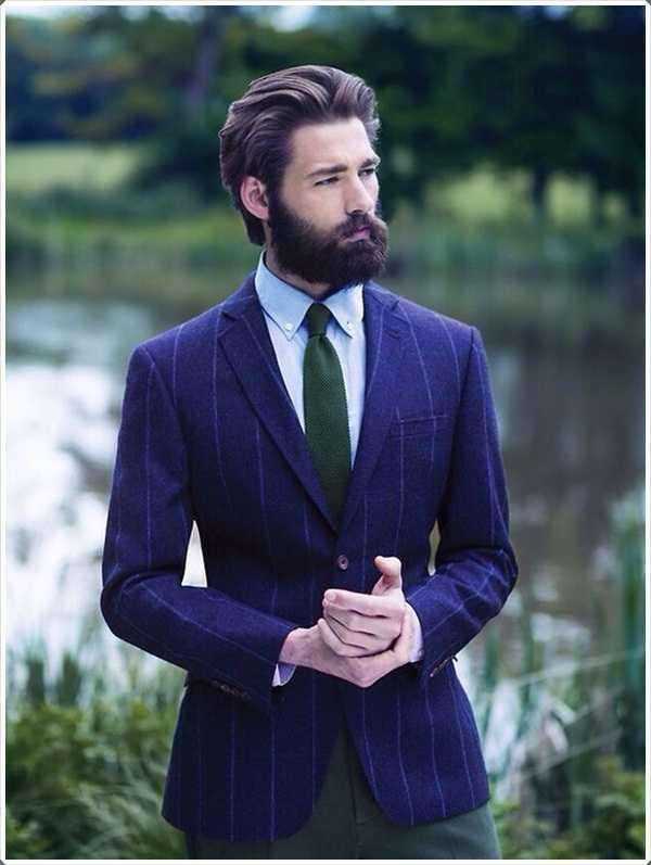 Si desea hacer una impresión usted tiene que elegir un estilo de barba que se adapta mejor a la cara