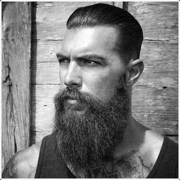 barbas largas pueden parecer tan elegante como una barba corta!