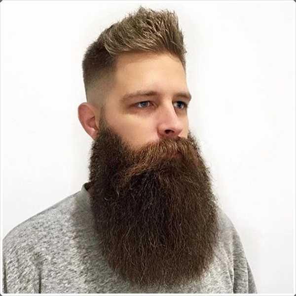La longitud de la barba completa requiere lubricación regular y ajuste