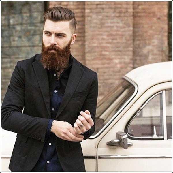 Tener una larga barba te hace ver más gallardo!
