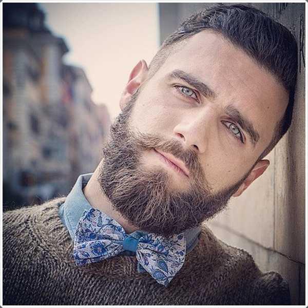 Esta longitud de la barba es muy fácil de cultivar y mantener