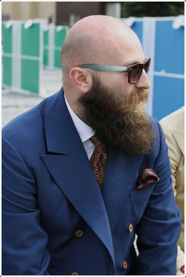 Incluso si usted es calvo barba seguiría siendo le conviene.