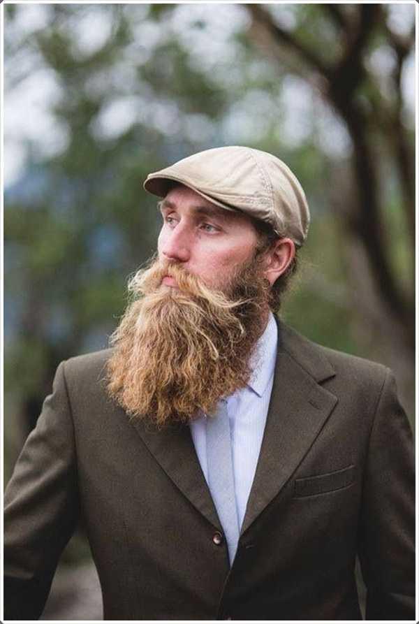 Una barba bien cuidada es el signo de un verdadero caballero