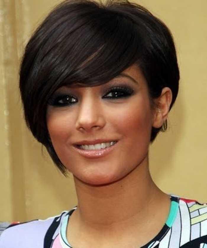 mejores cortes de pelo negro corto para caras redondas rpgshow blog oficial 1 Corto Modelo peinados para las mujeres con caras redondas