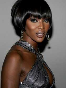 peinado bob corto para las mujeres negras