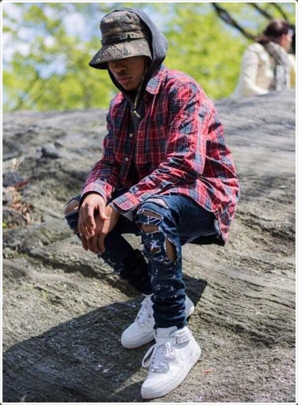 El sombrero del cubo se ha convertido en una parte importante de la cultura hip-hop