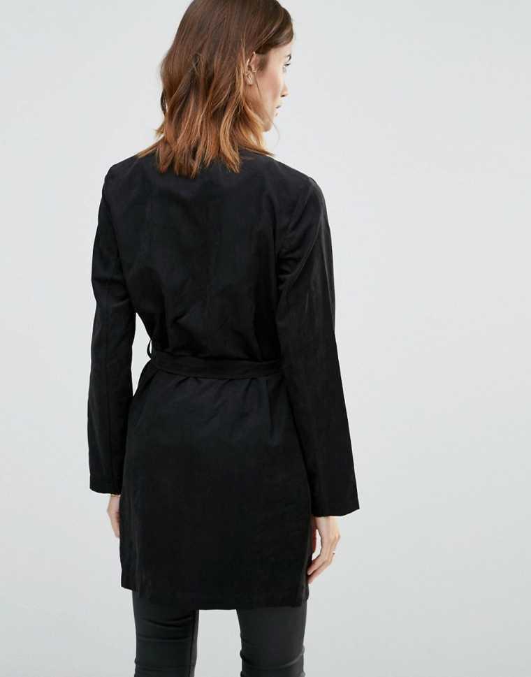 corte de las mujeres era de 2016 abrigo negro corte de las mujeres de moda