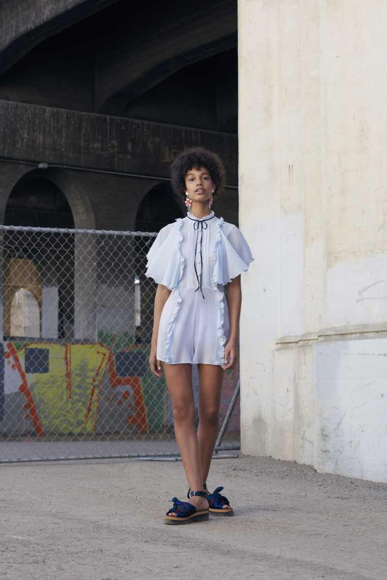mujer corto idea corte cara sandalias de vestido de la mujer de moda mirada