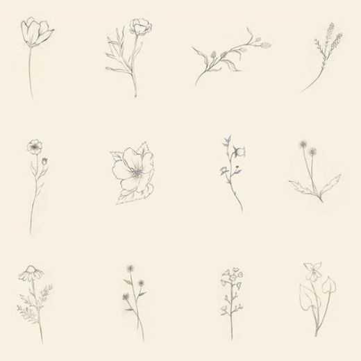 magníficos de la flor diseños de tatuajes