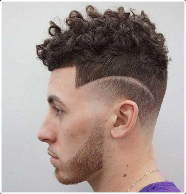 Curly y recortada - adecuado para los jóvenes