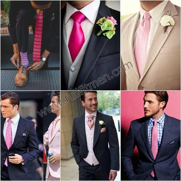 lazos de color rosa
