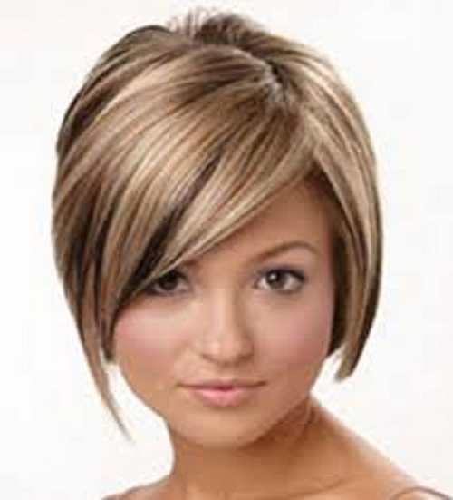 cortes de pelo corto para el pelo fino 2013 8 hermosas cortes de pelo corto Modelo Peinados para las mujeres con caras redondas