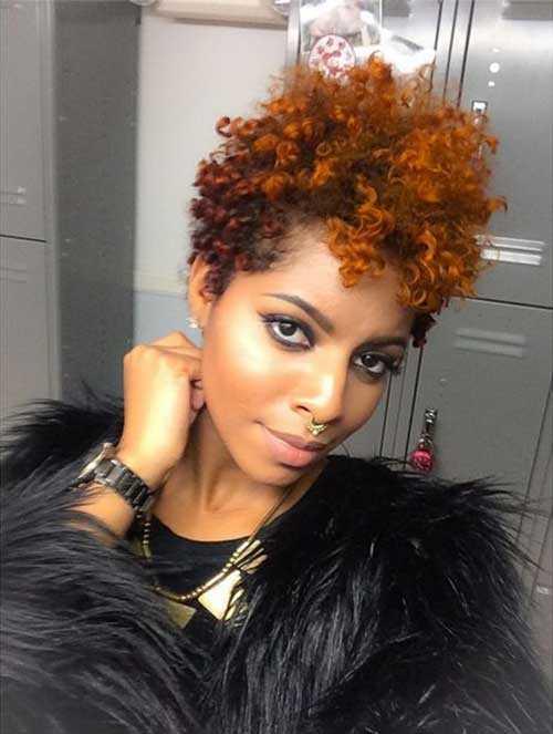 Pixie Cut de Negro mujeres-14