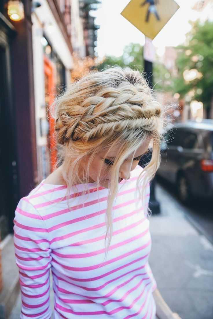 24 magníficamente creativa trenzado Peinados para el invierno