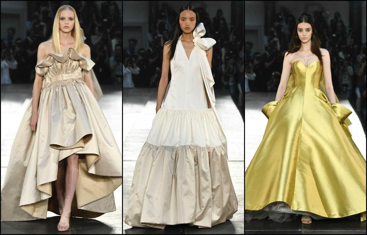 peinados parte media Alexis Mabille Couture 2017