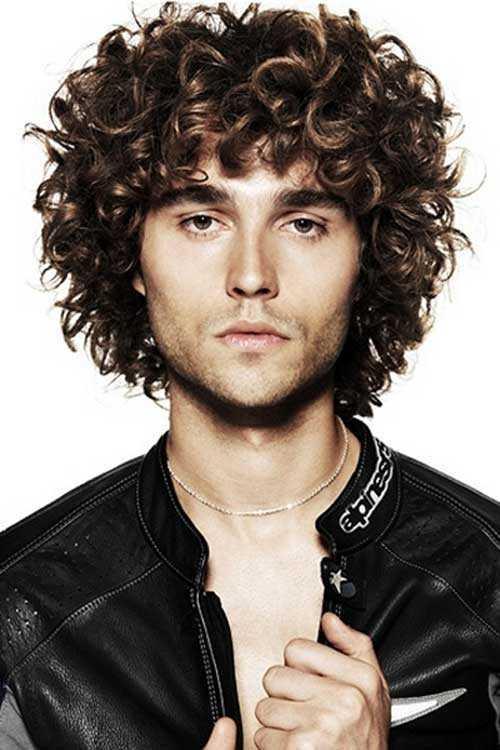 Curly pelo Guys