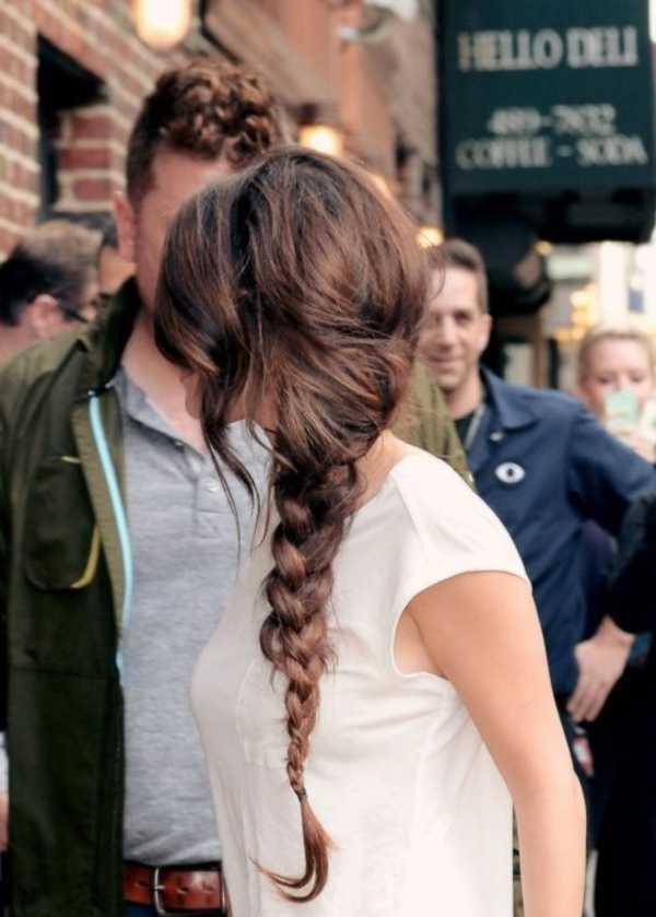 cola de caballo Ideas lindo peinado para el medio Hair0031