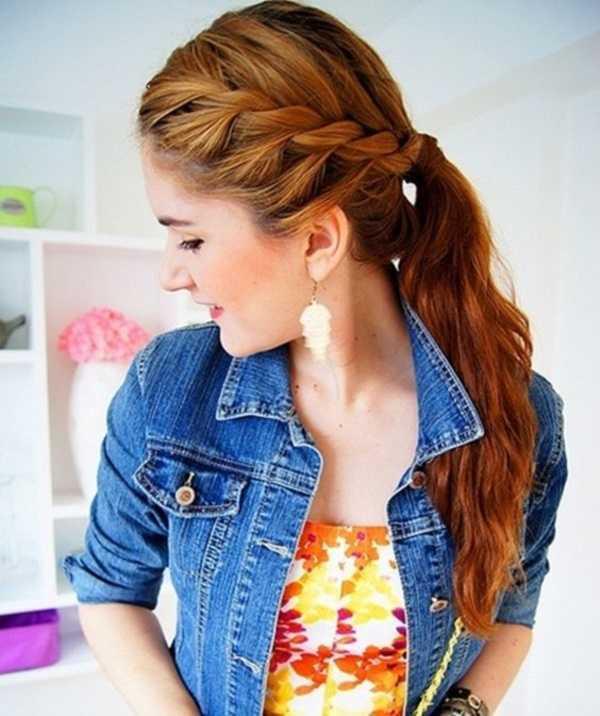 cola de caballo Ideas lindo peinado para el medio Hair0051
