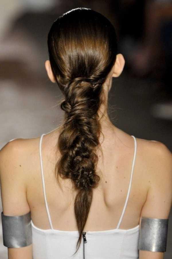 cola de caballo Ideas lindo peinado para el medio Hair0061
