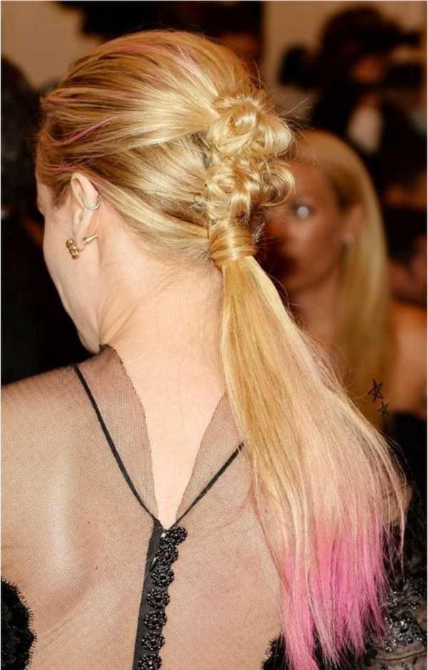 cola de caballo Ideas lindo peinado para el medio Hair0221