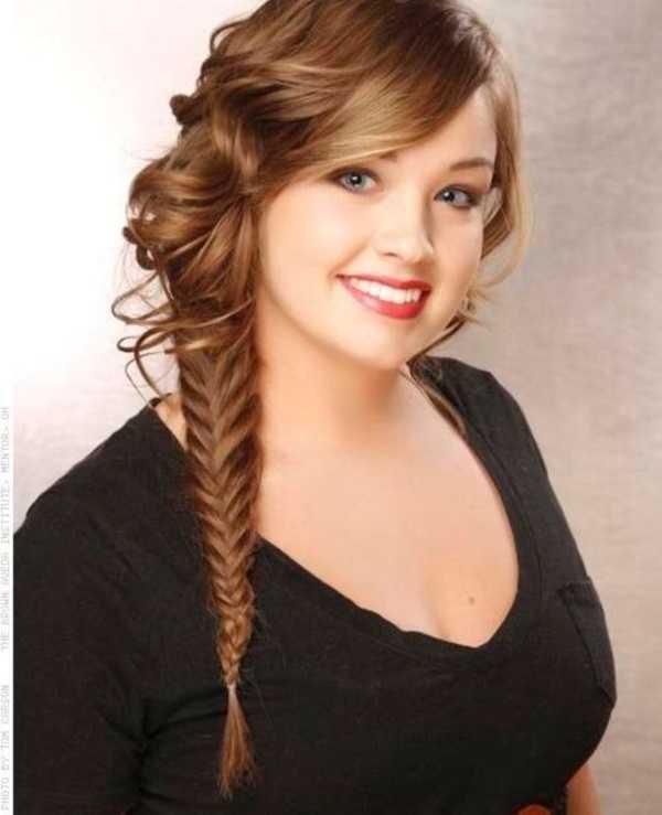 cola de caballo Ideas lindo peinado para el medio Hair0281