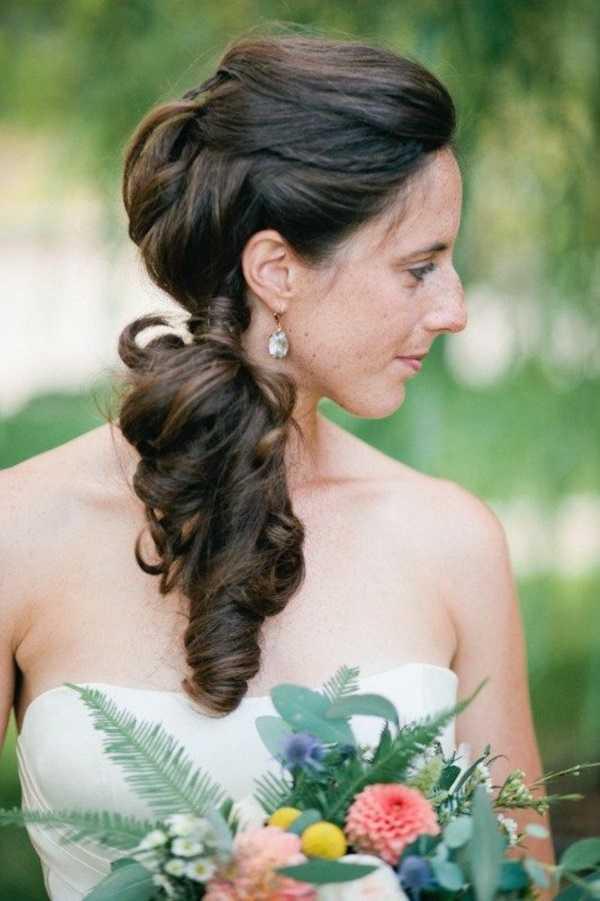 cola de caballo Ideas lindo peinado para el medio Hair0301