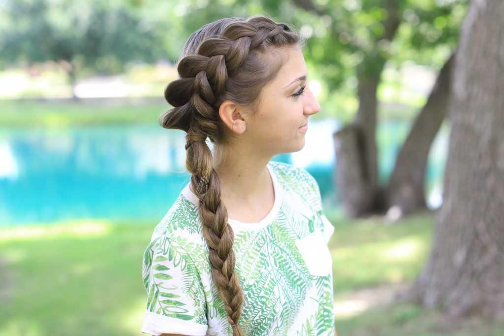 Side Zanja trenza Combo | lindas chicas peinados