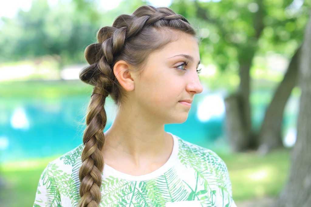 Side trenza holandesa Combo | lindas chicas peinados