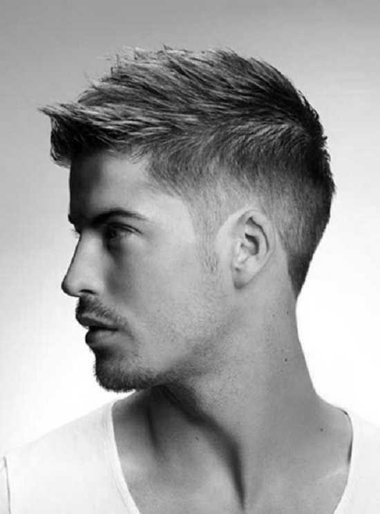 Fade Manly moderna estilos de cabello para los hombres