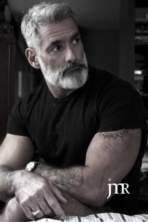 Estilos de la barba gris a ser increíblemente