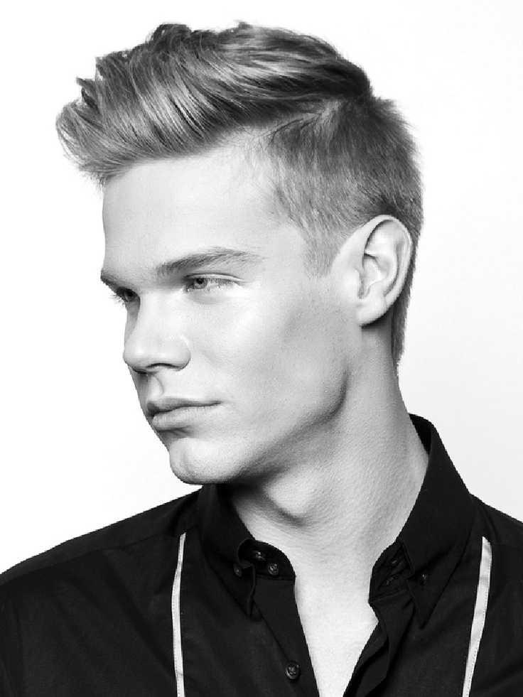 Hombres modernos peinados