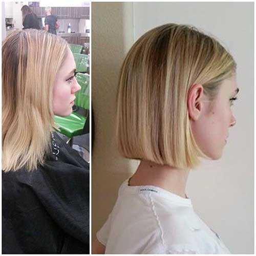 Short Peinados para cabello fino recto