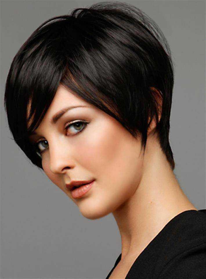 cortes de pelo corto Cabello Fino & amp; Cara oval