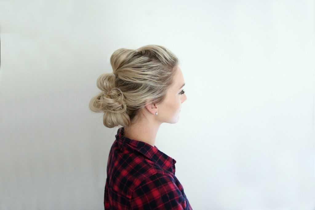 Updo burbuja | Linda chicas peinados