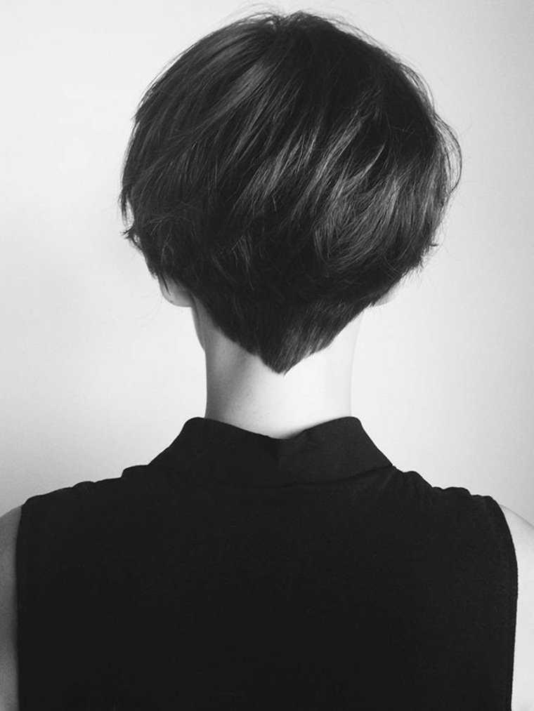 pelo corto mujer corta el pelo idea