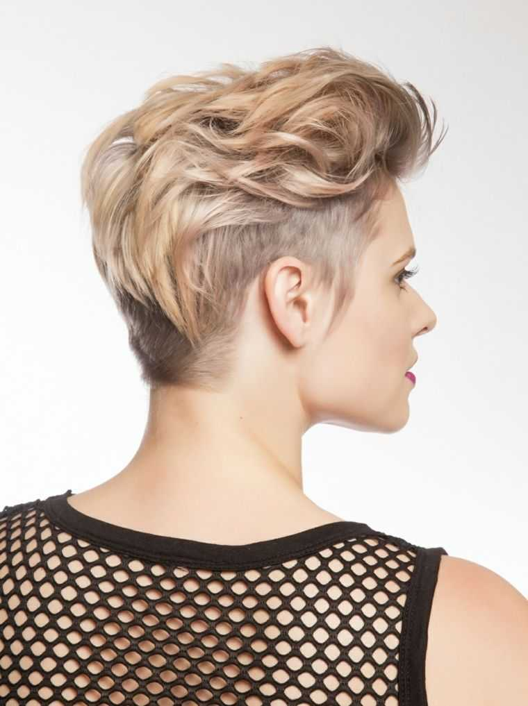 Cortes Pelo Muy Corto Stunning Peinados Para Pelo Muy Corto Mujer