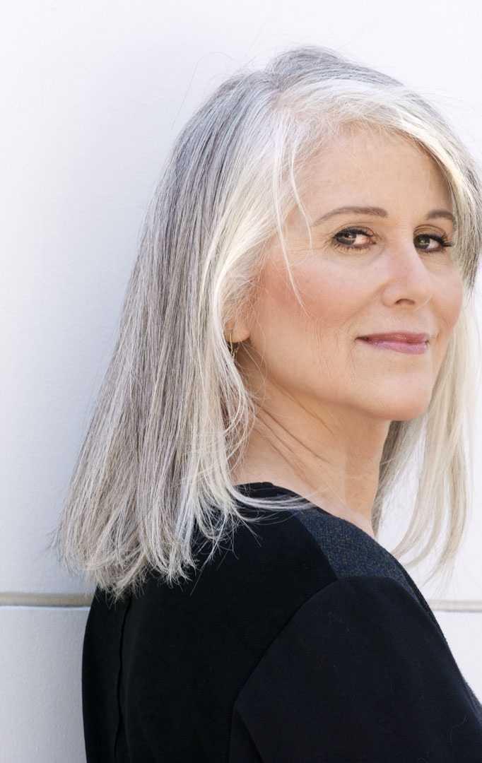gris peinados para las mujeres maduras