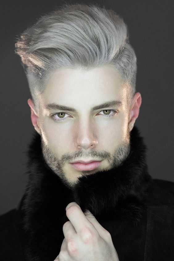 cortes de pelo de los hombres grises