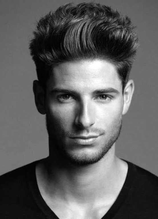 modernos estilos para hombre pelo desordenado