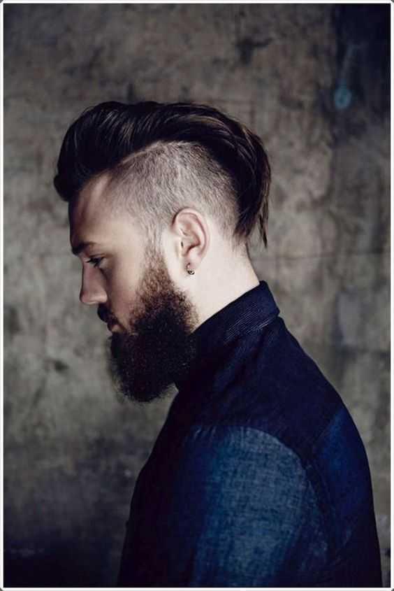 peinados Mohawk para los hombres