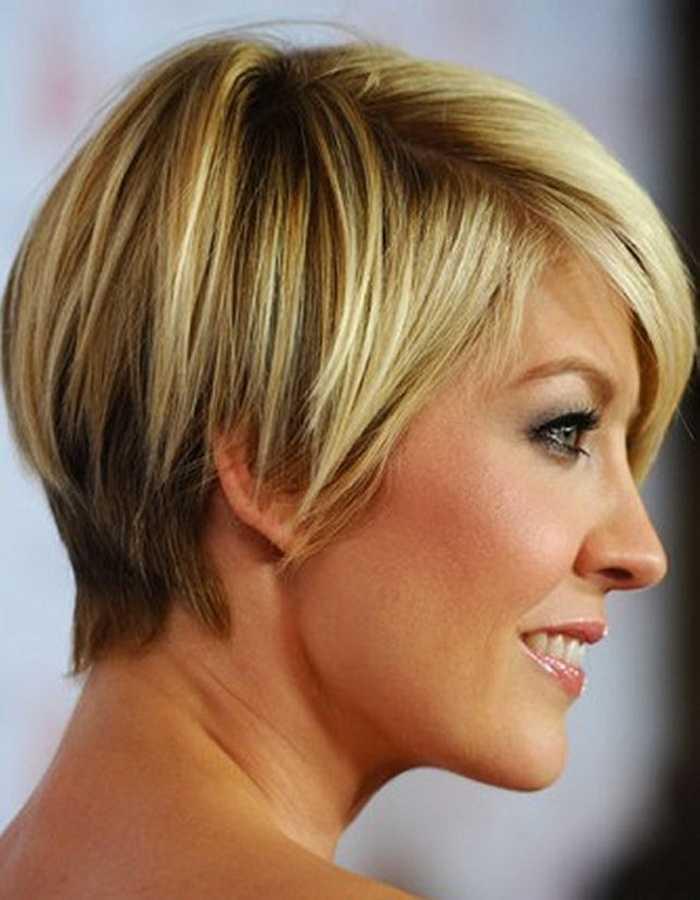 cortes de pelo corto para ovalada caras posterior y frontal