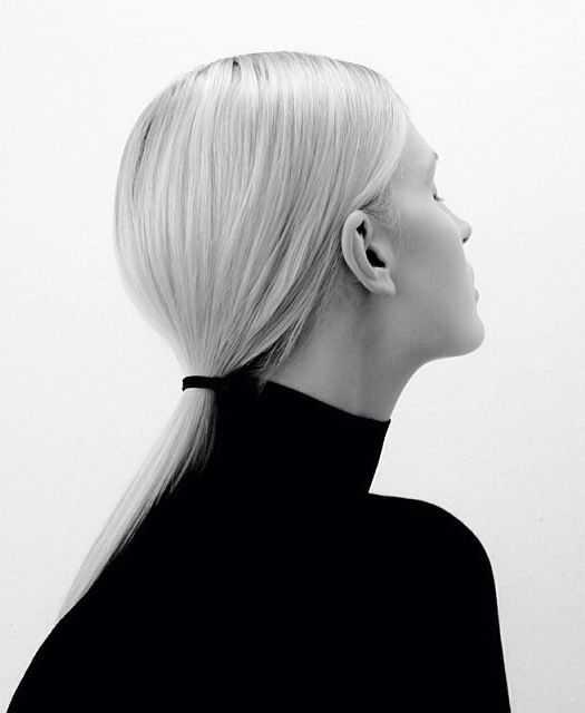 cola de caballo elegante peinados 12