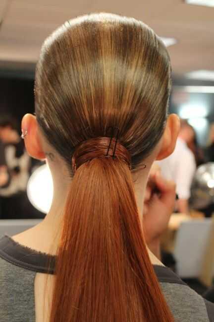 cola de caballo elegante peinados 17