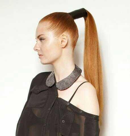 cola de caballo elegante peinados 21