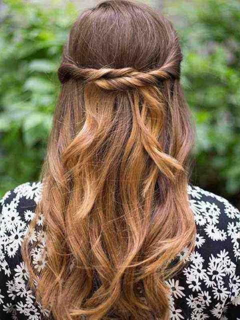 27 Lindo y Fácil Peinados con Fotos-13