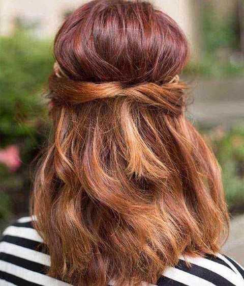 27 Lindo y Fácil Peinados con Fotos-19