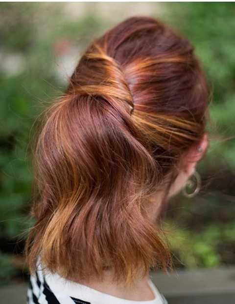 27 Lindo y Fácil Peinados con Fotos-5