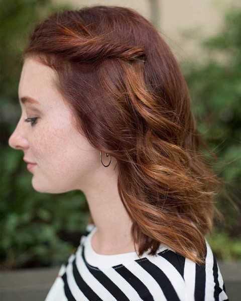 27 Lindo y Fácil Peinados con Fotos-7