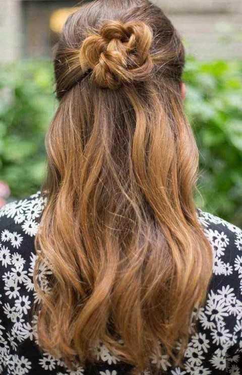 27 Lindo y Fácil Peinados con Fotos